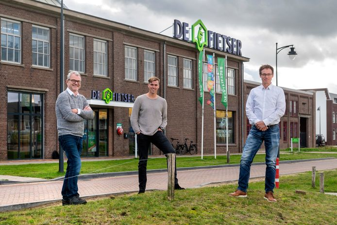 Michiel Wismans, Lars Venendaal en Imre de Groot.