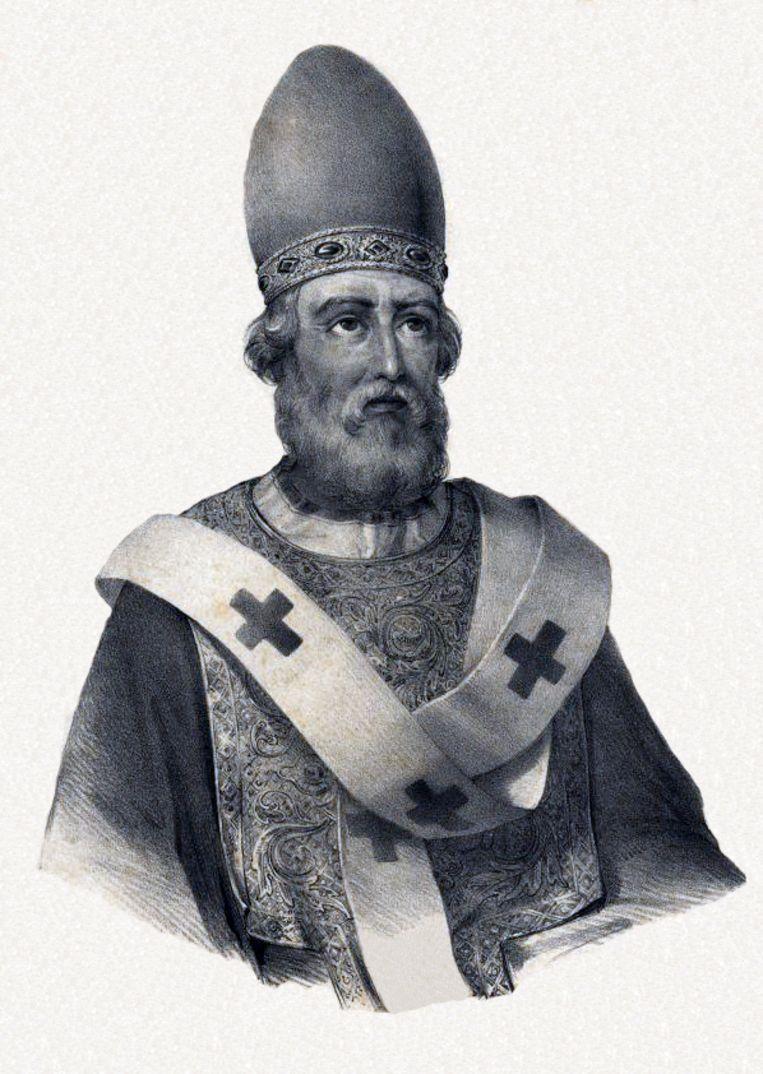 Paus Damasus  Beeld Biblioteca Nacional de Portuga