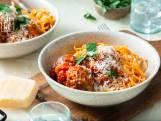 Wat Eten We Vandaag: Spaghetti met gehaktbal in tomatensaus