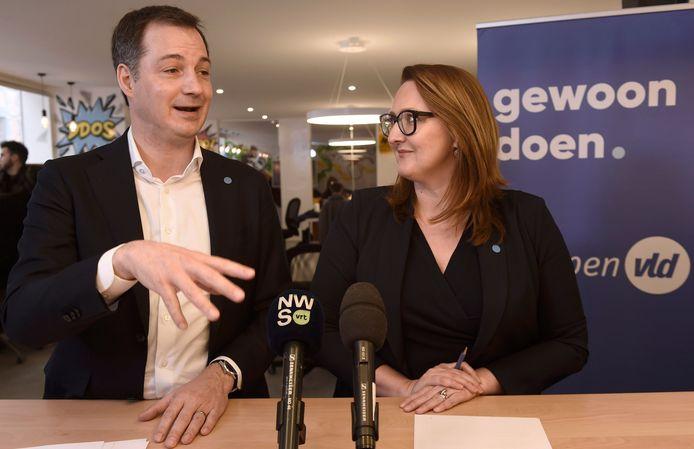 Alexander De Croo et Gwendolyn Rutten briguaient tous les deux le poste de Premier ministre. Leurs ambitions personnelles respectives ont influencé le déroulement des négociations fédérales, selon Wouter Verschelden.