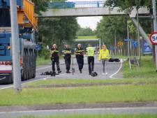 Motorrijder verongelukt op de Zuigerplasdreef in Lelystad
