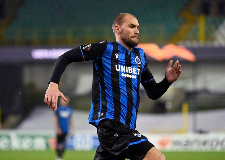 Bas Dost is goed voor zes goals in elf wedstrijden sinds zijn komst naar blauw-zwart. Beeld Photo News