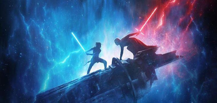 Stukje uit de poster van 'Star Wars IX' Beeld Lucasfilm/Disney