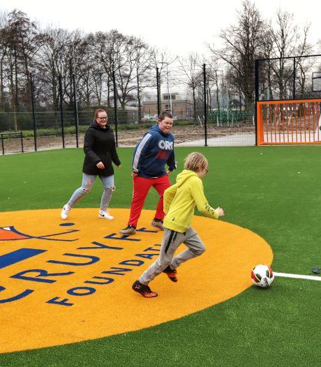 Cruyff Court van Frenkie de Jong komt mogelijk op de plek van de voetbalkooi in Arkel