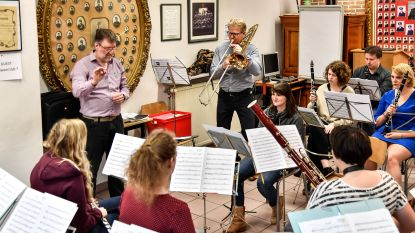Muziekkapel Brandweer zet de trombone in de kijker