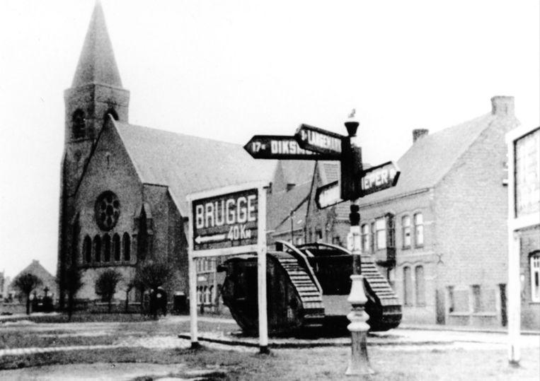 Daarna stond hij als attractie op de markt, tot de Duitsers hem in 1941 vernielden.