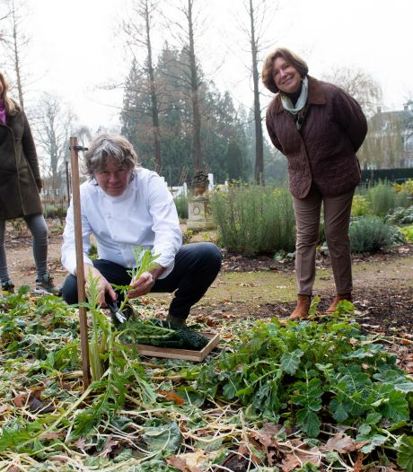 Landgoed Klarenbeek herstelt moestuin uit 1920 en laat oogst terugkeren in afhaal-kerstmenu