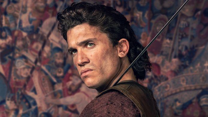 Jaime Lorente incarne Rodrigo Díaz de Vivar, alias El Cid, héros légendaire de l'histoire espagnole.