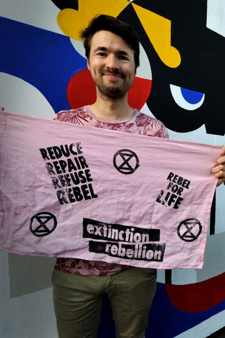 Ook Dordt heeft sinds kort een eigen Extinction Rebellion groep: 'De druk moet worden opgevoerd'