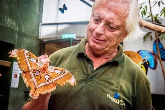 De vingers van eigenaar Jan Kienjet jeuken om zijn Vlindertuin uit te breiden. ,,Nu eerst met mijn vrouw Janneke inspiratie opdoen in Costa Rica.''