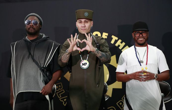 Rappers Will.i.am, Taboo en Apl.de.ap: samen de Black Eyed Peas.