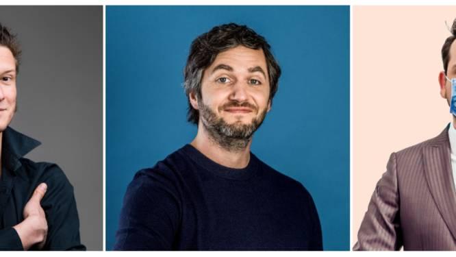 Wouter Deprez, Lieven Scheire en Xander De Rycke openen nieuwe comedy club in Dendermonde