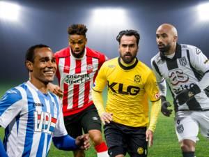 Waar spelen de clubs in de laatste speelrondes nog voor?