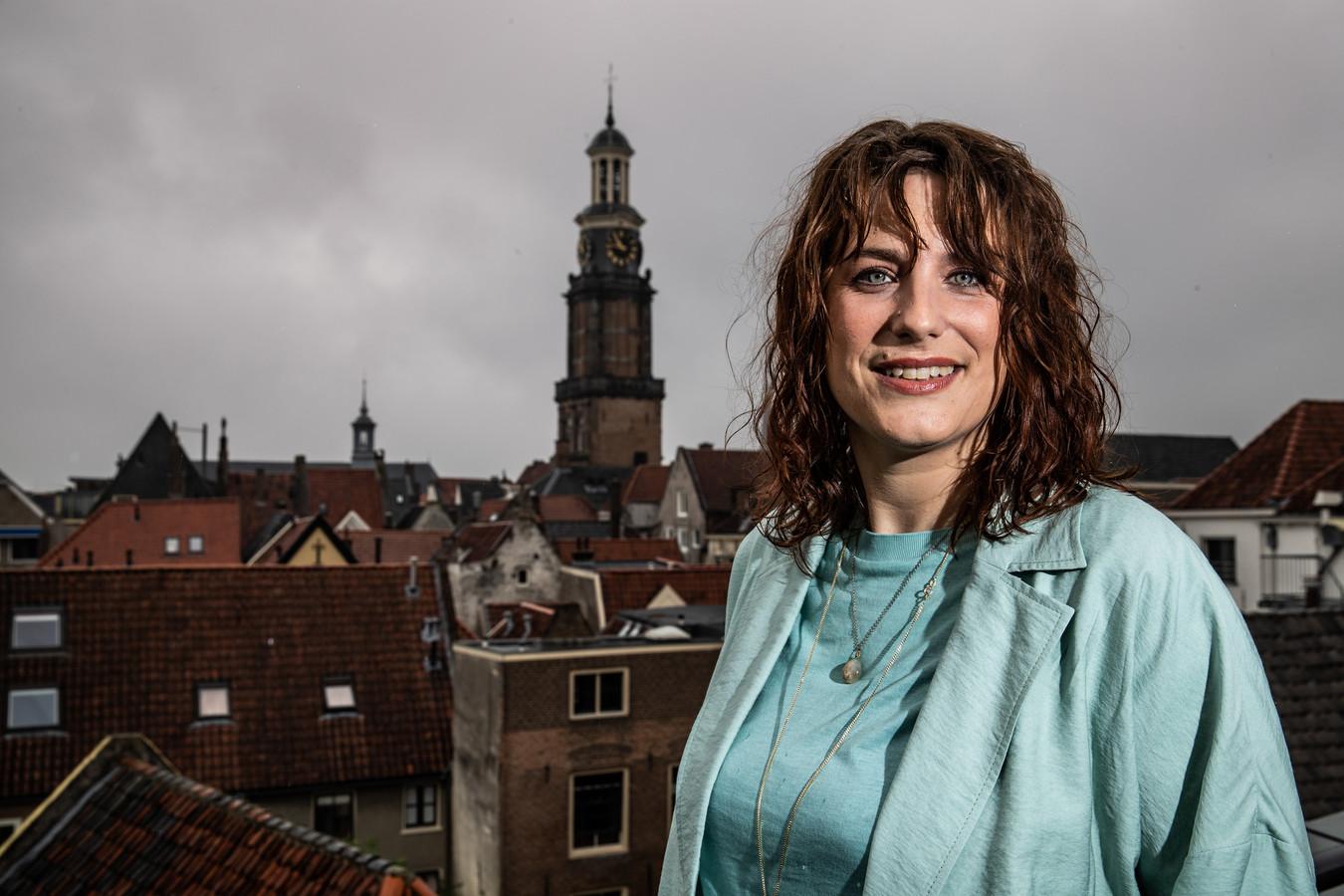 Eva Boswinkel, kersvers wethouder in de gemeente Zutphen.