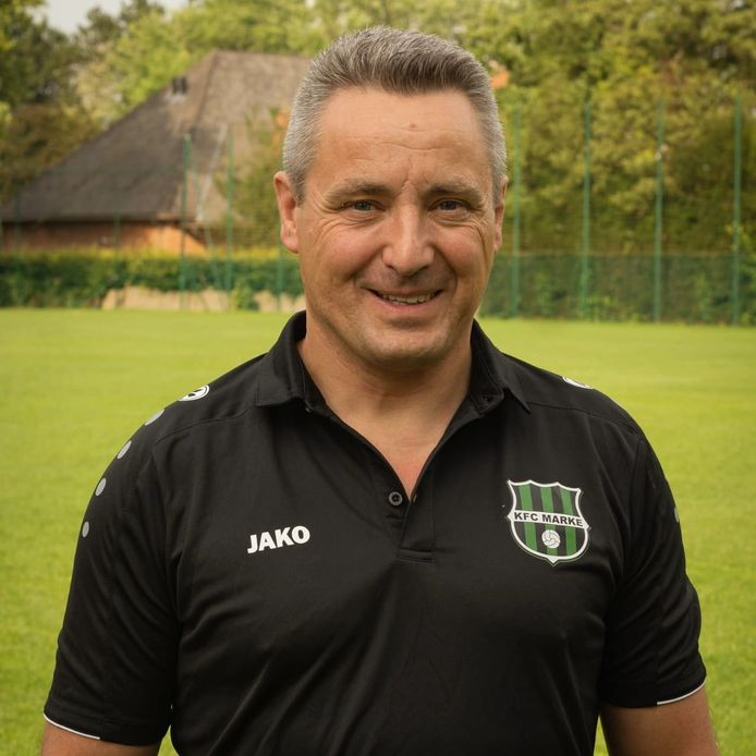 Christ Claerhout wordt de trainer van de Markse B-ploeg.