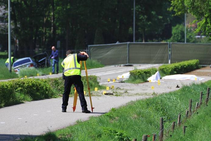 Dodelijk ongeval in Meijel.