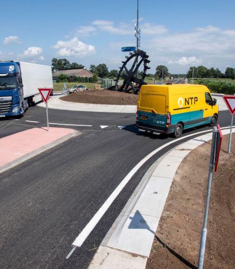 Hoera! De N315 bij Rietmolen is weer open: vanaf Neede zit je weer snel op de N18 en in Enschede