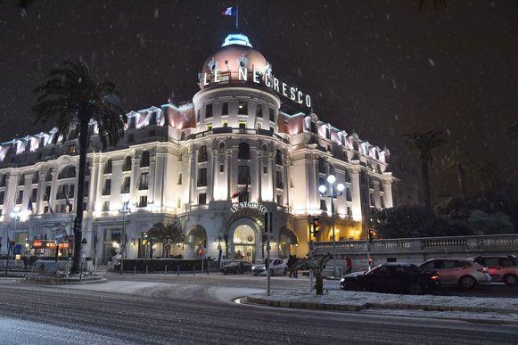 Het Negresco Hotel in Nice.
