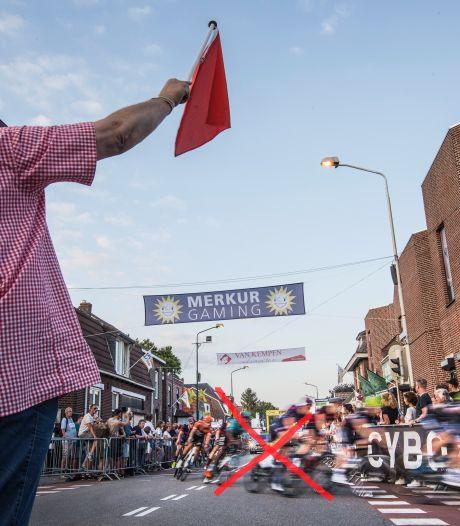 Opnieuw geen profwielrenners in Boxmeer: Daags na de Tour voor tweede keer afgelast