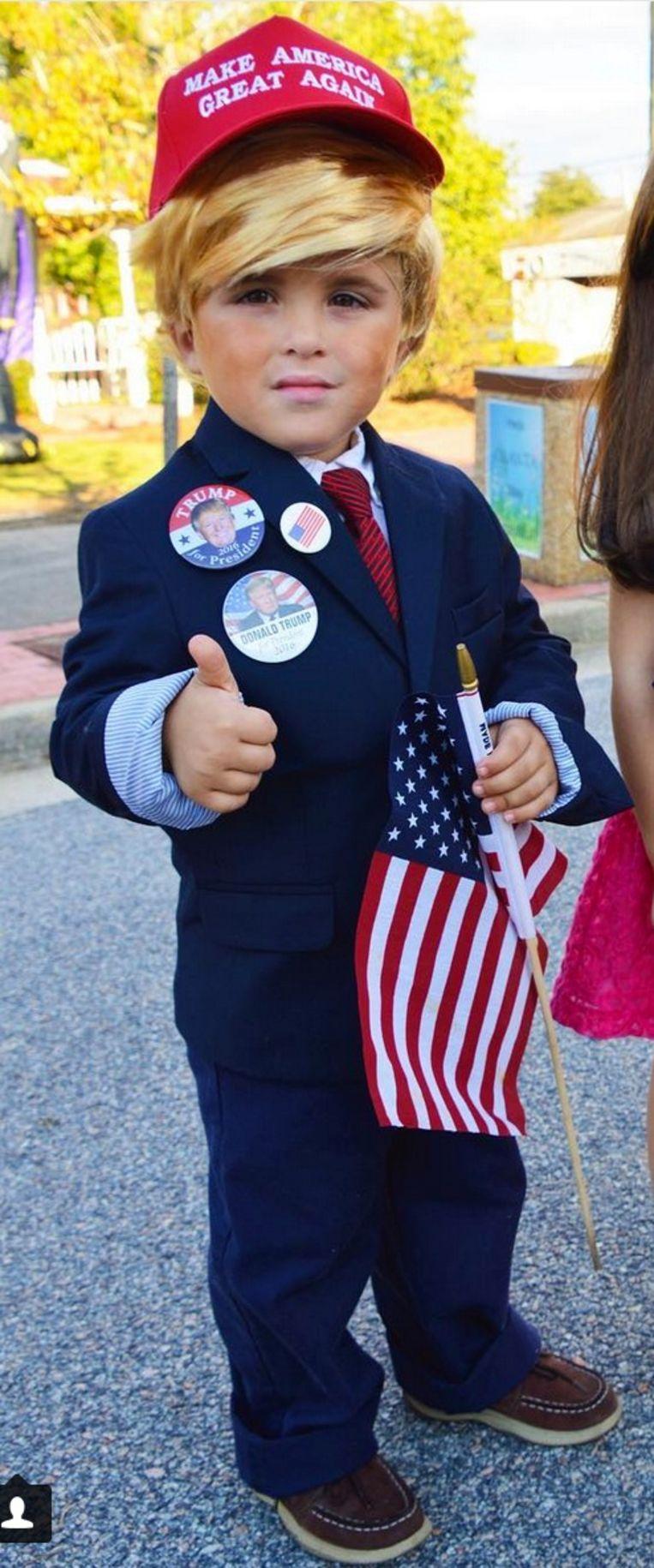 'Een foto van uw kind als Trump zal hem voor altijd achtervolgen' Beeld RV