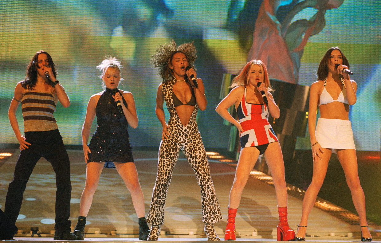 Spice Girls in 1997 Beeld Getty Images