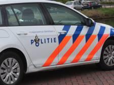 Duitse snelheidsduivel loopt tegen lamp in Sint-Annaland