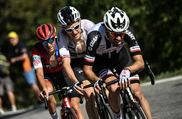 Geraint Thomas wint etappe, Dumoulin man van de dag