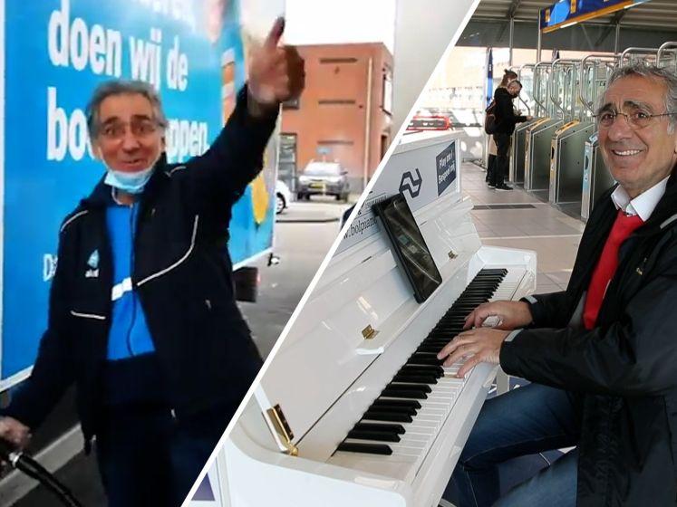 Van beste stationspianist naar zingende pompbediende