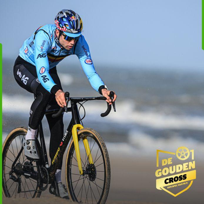 Wout van Aert wordt voor de vierde keer wereldkampioen volgens Thomas Prinsen.