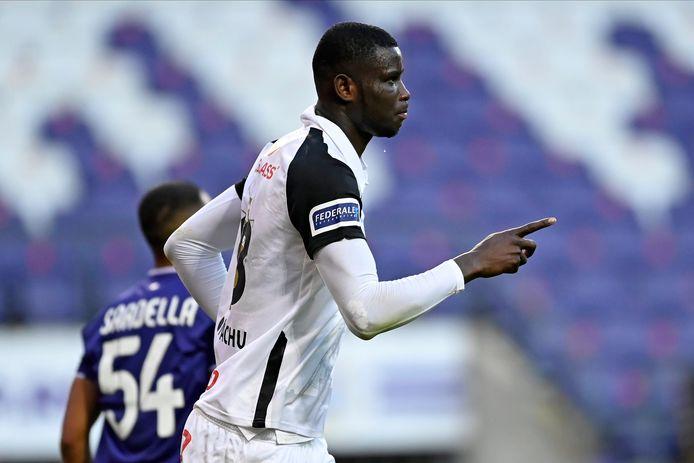 Onuachu scoorde de 0-1 na een flater van Sardella.