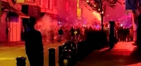 300 supporters troepen samen in Rabot nadat Besiktas titel behaalt in Turkije