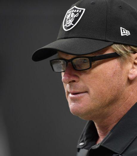 American footballcoach Las Vegas Raiders stapt op na uitlekken homofobe en racistische mails