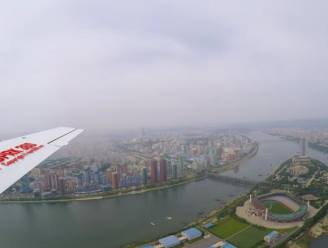 De stad die we nooit zien: unieke luchtbeelden tonen kleurrijk Pyongyang... zonder mensen