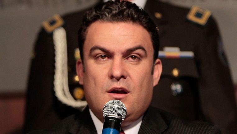 Minister van Binnenlandse Zaken José Serrano. Beeld EPA