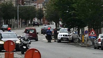 Twintig auto's getakeld in centrum voor duatlon