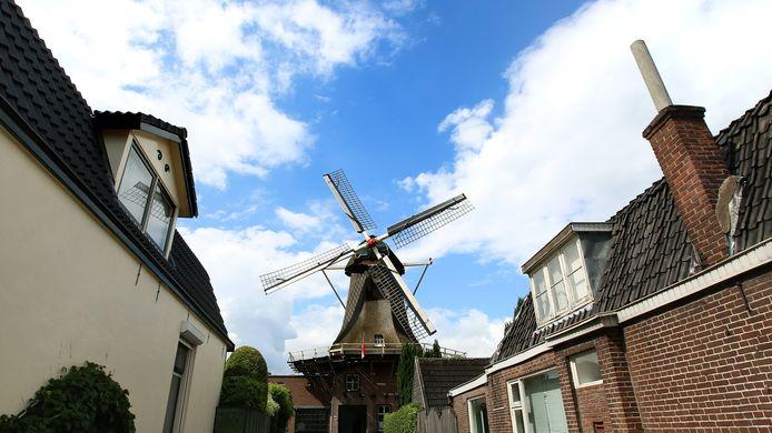 De Veenendaalse molen De Vriendschap.