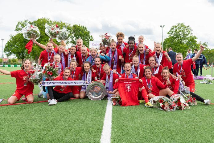 De landskampioen 2020-2021: FC Twente.