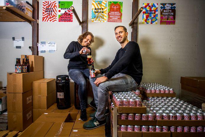 Lisette en Olivier Tanis hebben nu beiden nog een baan, maar hopen zich ooit helemaal op het bierbrouwen te kunnen storten.