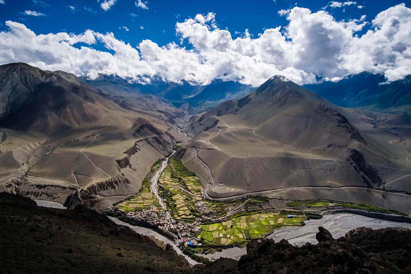 Het Tibetaans plateau. China heeft een claim gelegd op deze belangrijkste zoetwaterbron op aarde.