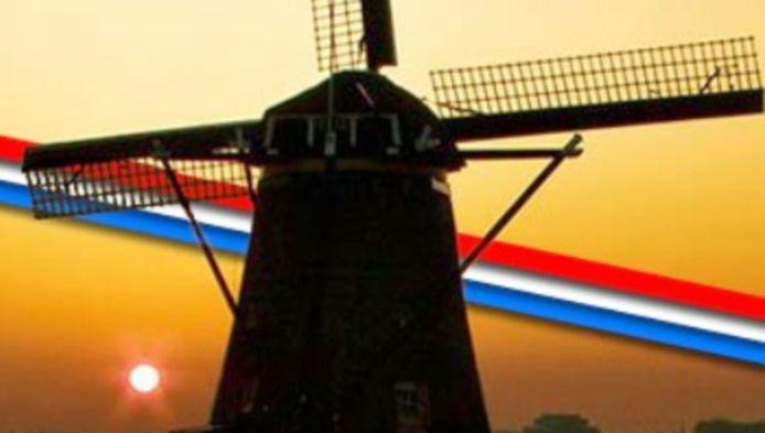 De molen uit het logo van Nederland mijn Vaderland