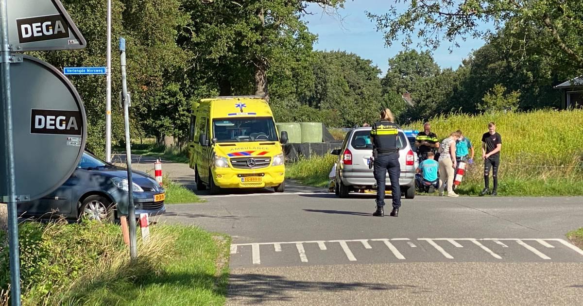 Wielrenner gewond bij botsing met auto in Notter.