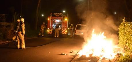 Jonge man opgepakt voor brandstichting in container in Doetinchem