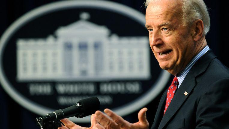 Amerikaanse vicepresident Joe Biden Beeld UNKNOWN