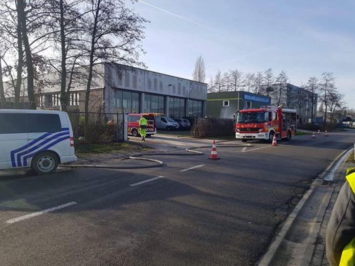 Het gaslek situeerde zich in de Frankrijkstraat.
