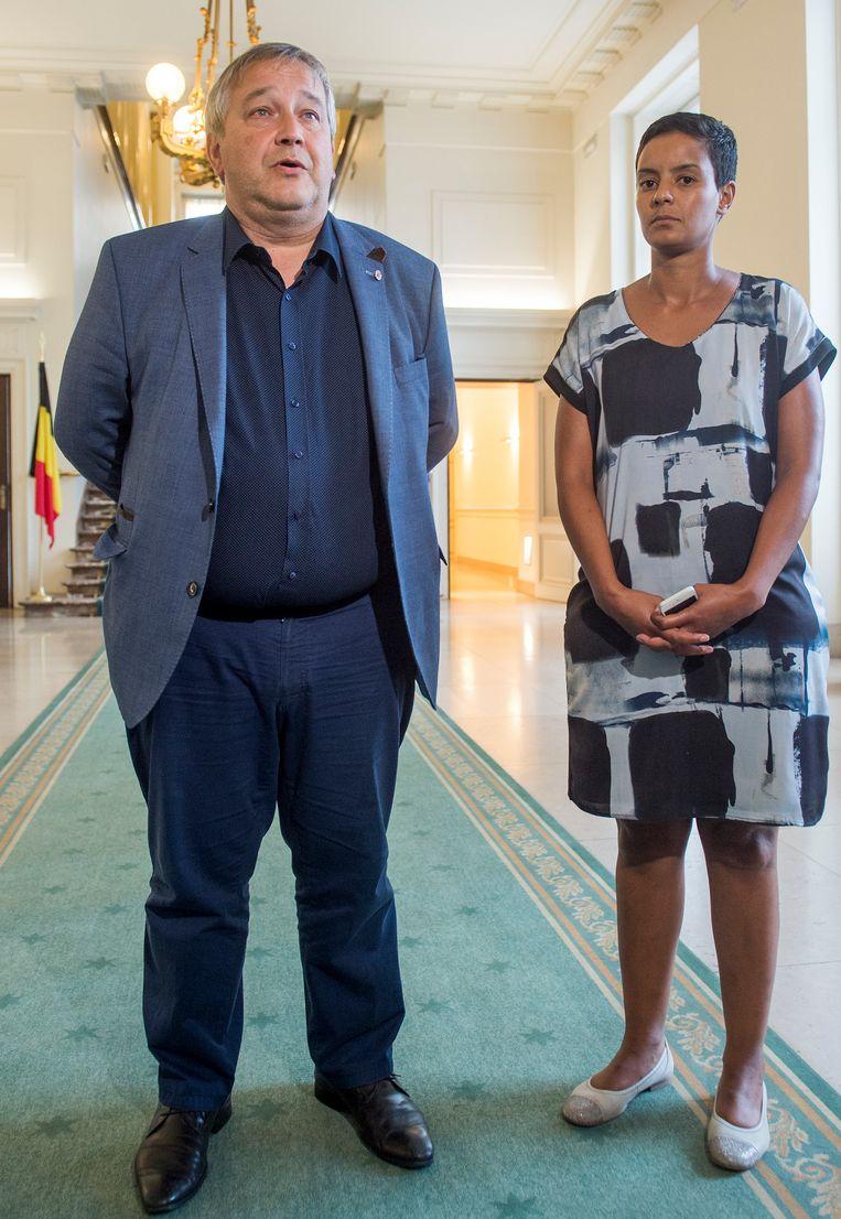 Luk Van Biesen verontschuldigde zich na het racistische incident bij Meryame Kitir.