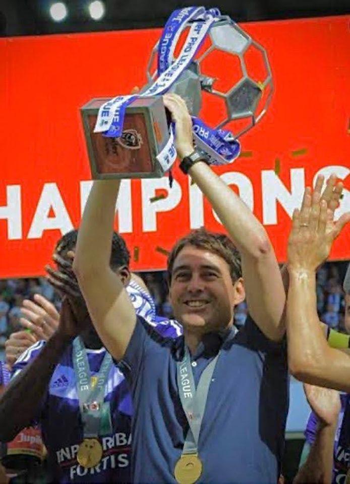 Weiler werd landskampioen bij Anderlecht.