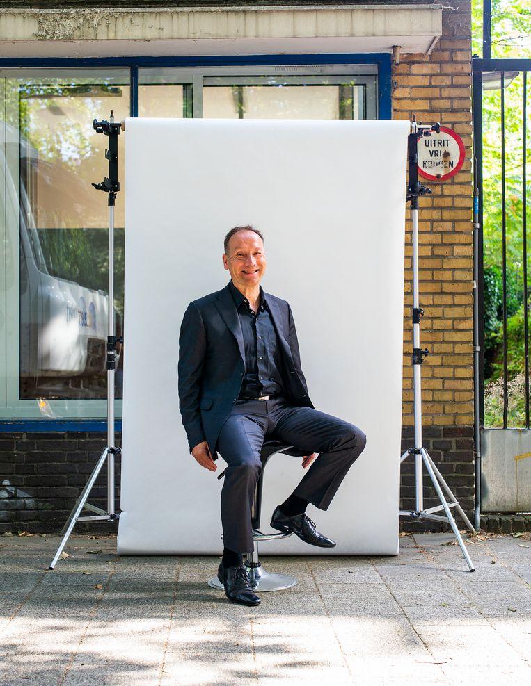 Ex-lijsttrekker van de PVV Rotterdam Géza Hegedüs. Beeld Jiri Buller