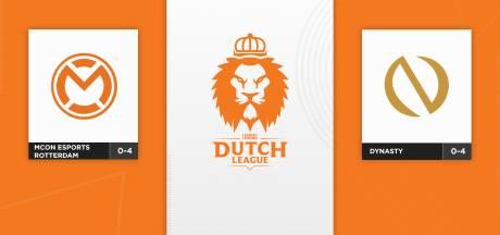 Dynasty en mCon esports Rotterdam strijden om eerste overwinning in Dutch League