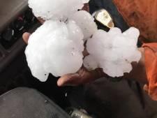 Bizar record: enorme hagelstenen tijdens zware storm Australië 'zo groot als grapefruits'