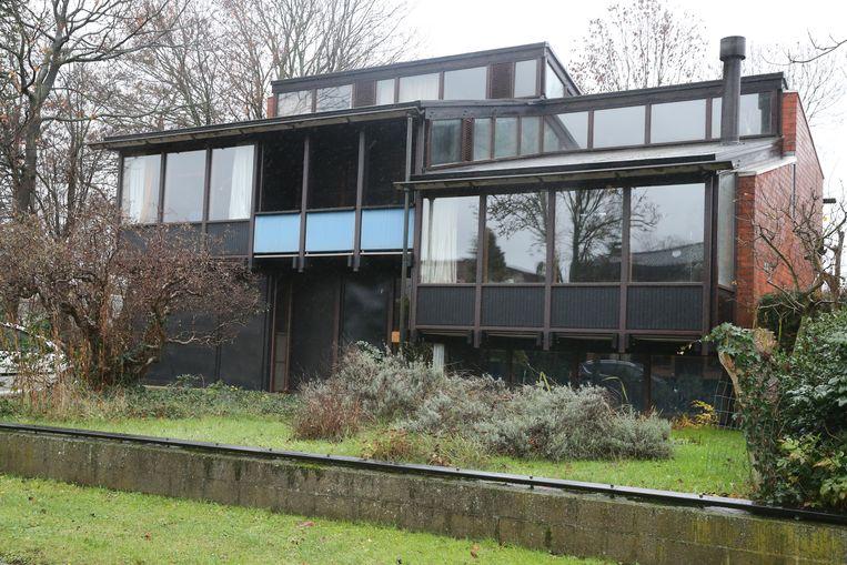 De architectenwoning van Fried Verschuren in Sint-Amandsberg.
